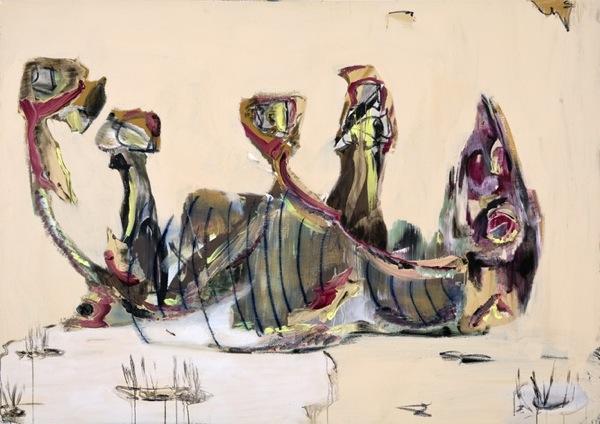 Manuel Mathieu puts human nature on canvas