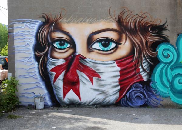 Decolonizing - Bandit Mural
