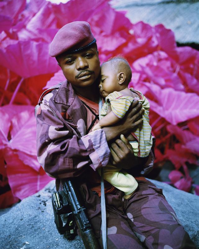 Richard Mosse_Madonna and Child