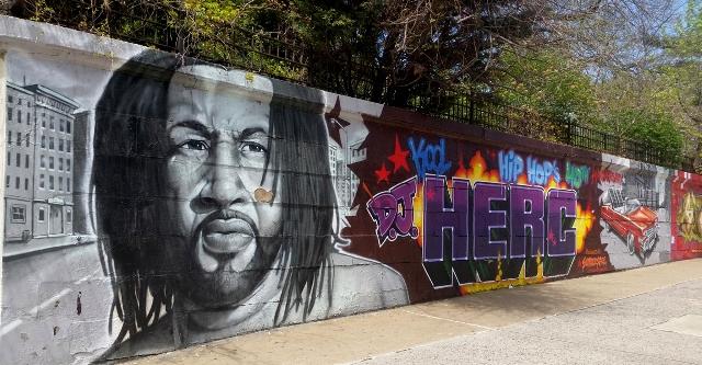 Kool Herc mural