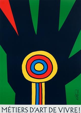 Poster for Salon des métiers d'art de Montréal (2000) courtesy McCord Museum