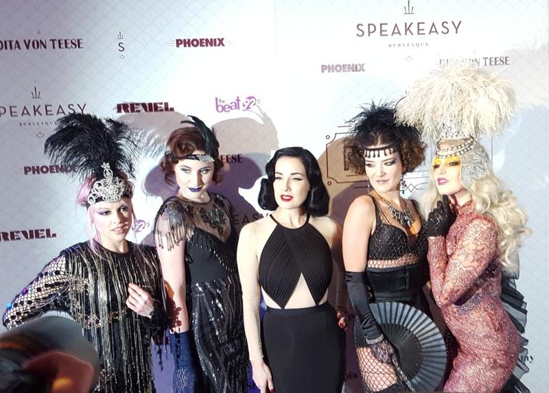 PHOTOS: Dita Von Teese meets Montreal's burlesque stars