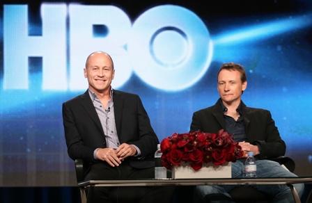 Mike Judge and Alec Berg