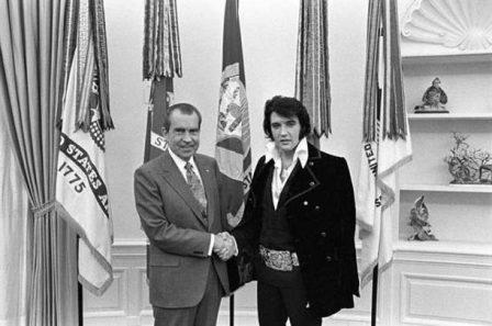 Nixon and Elvis
