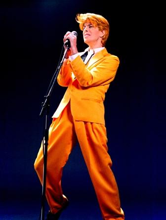 Space Oddity - David Brighton as David Bowie
