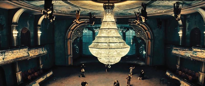 upside down ballroom