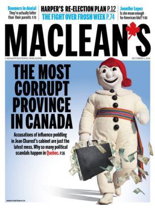 macleans quebec corrupt