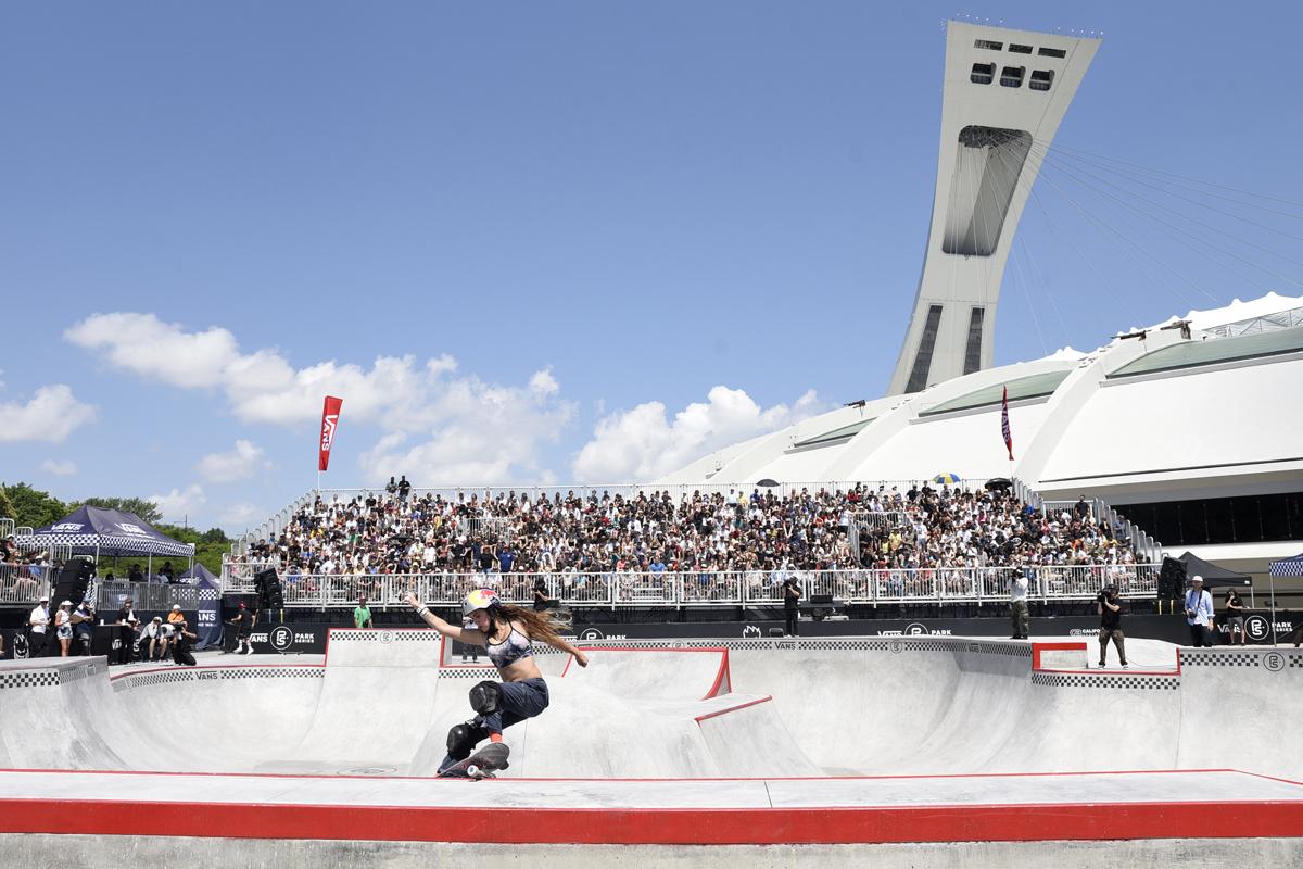 A report from Montreal's new skateboarding championship & skatepark