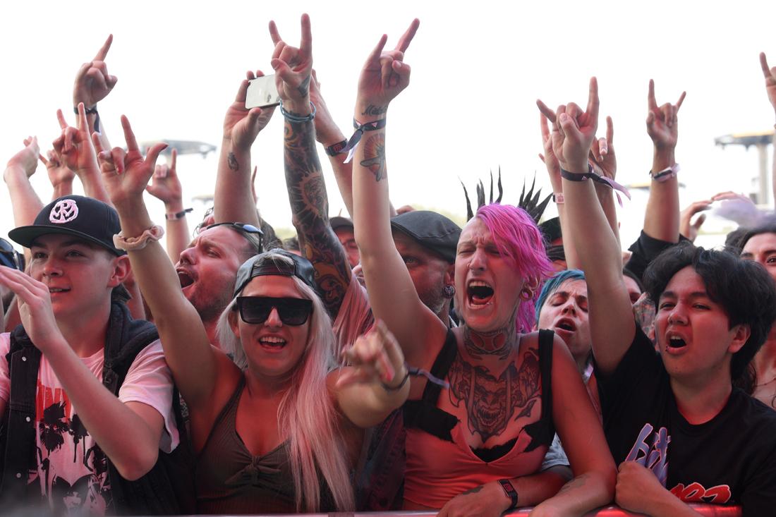 Punk rock reigned at 77 Montréal