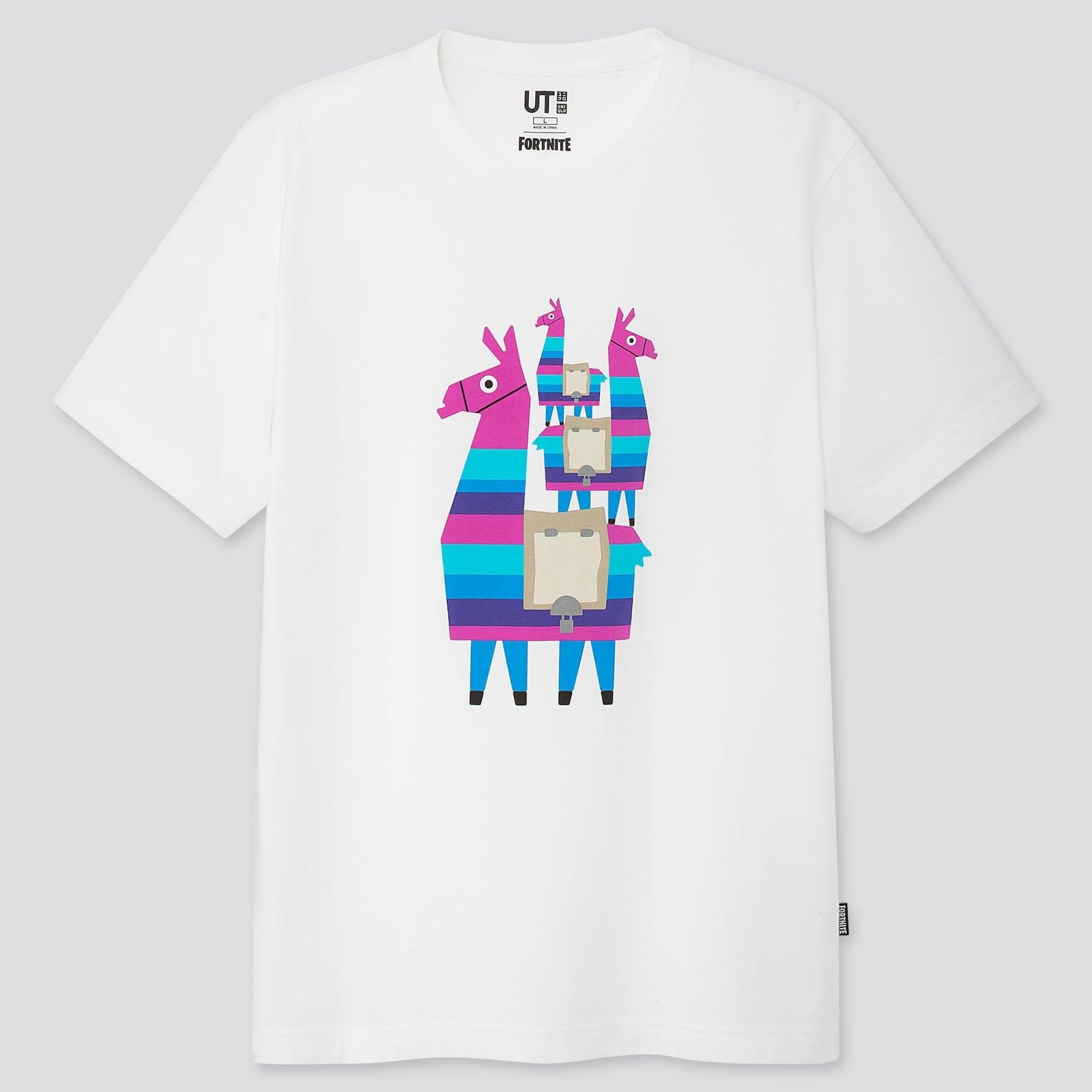 Show Uniqlo Fortnite t-shirt