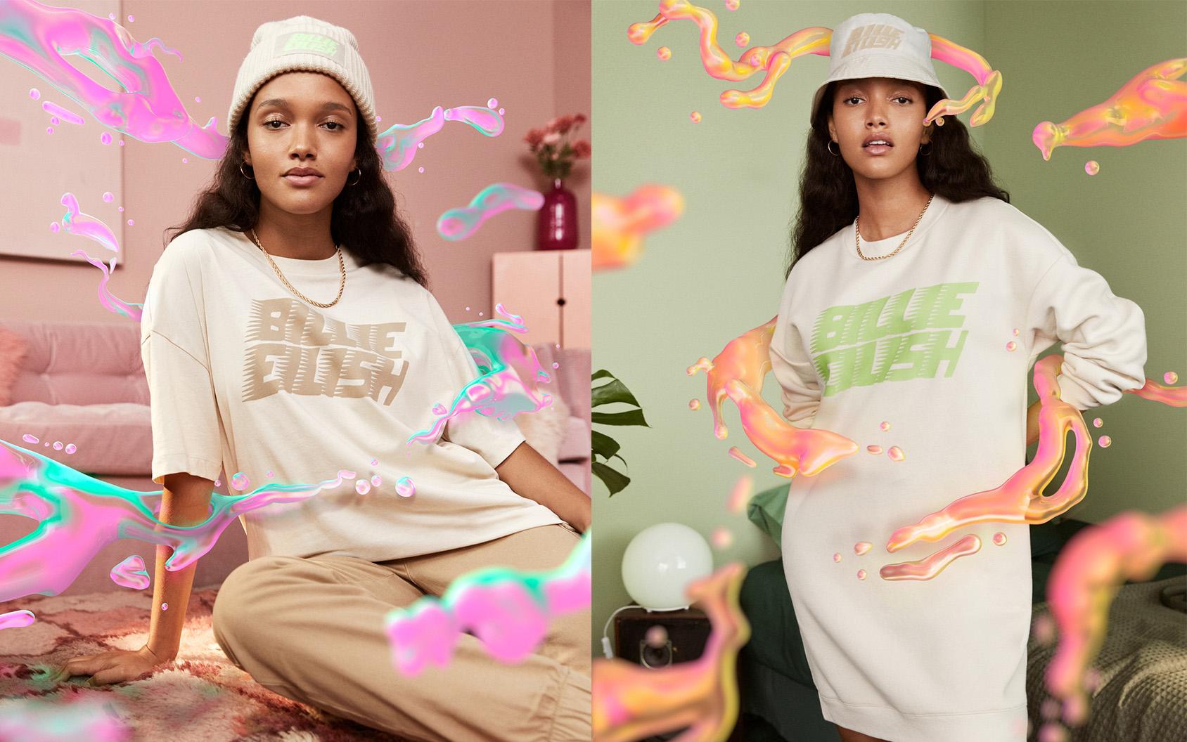 Billie Eilish clothing at H&M