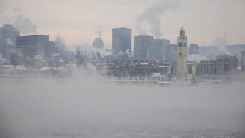 Montreal smog