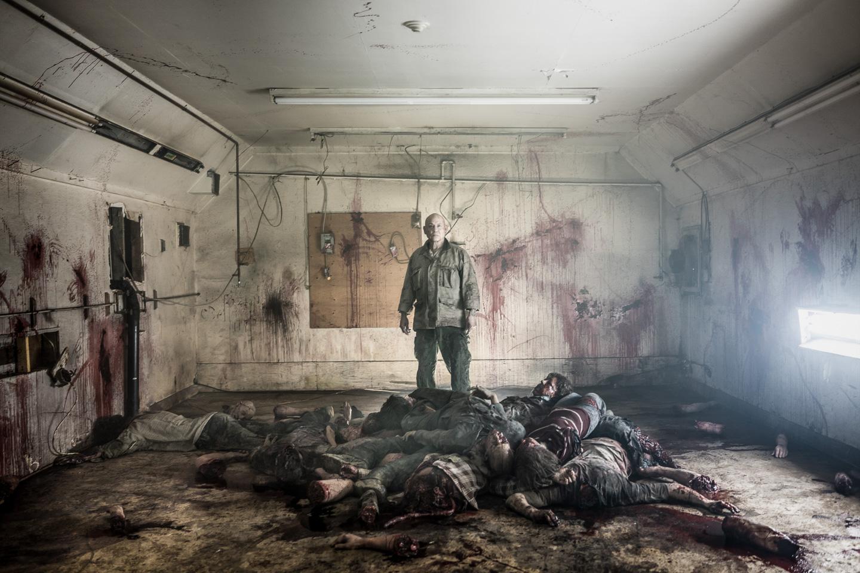 Blood Quantum is an eerily prescient zombie movie