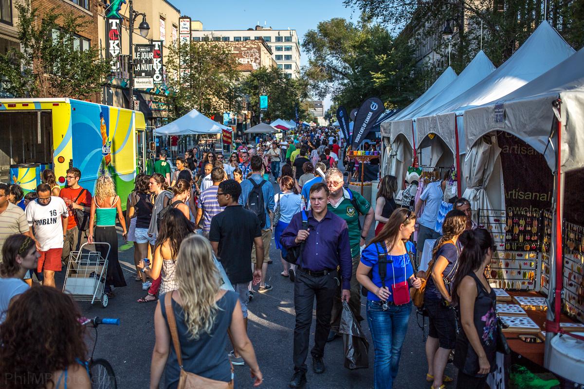st-laurent street fair montreal