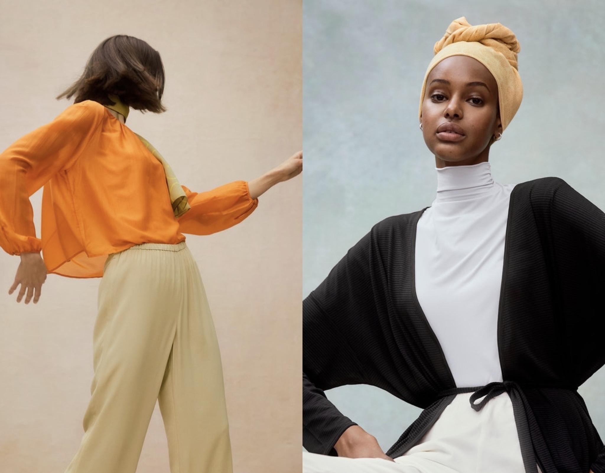 Hana Tajima's culturally inclusive Uniqlo line adapts to body changes
