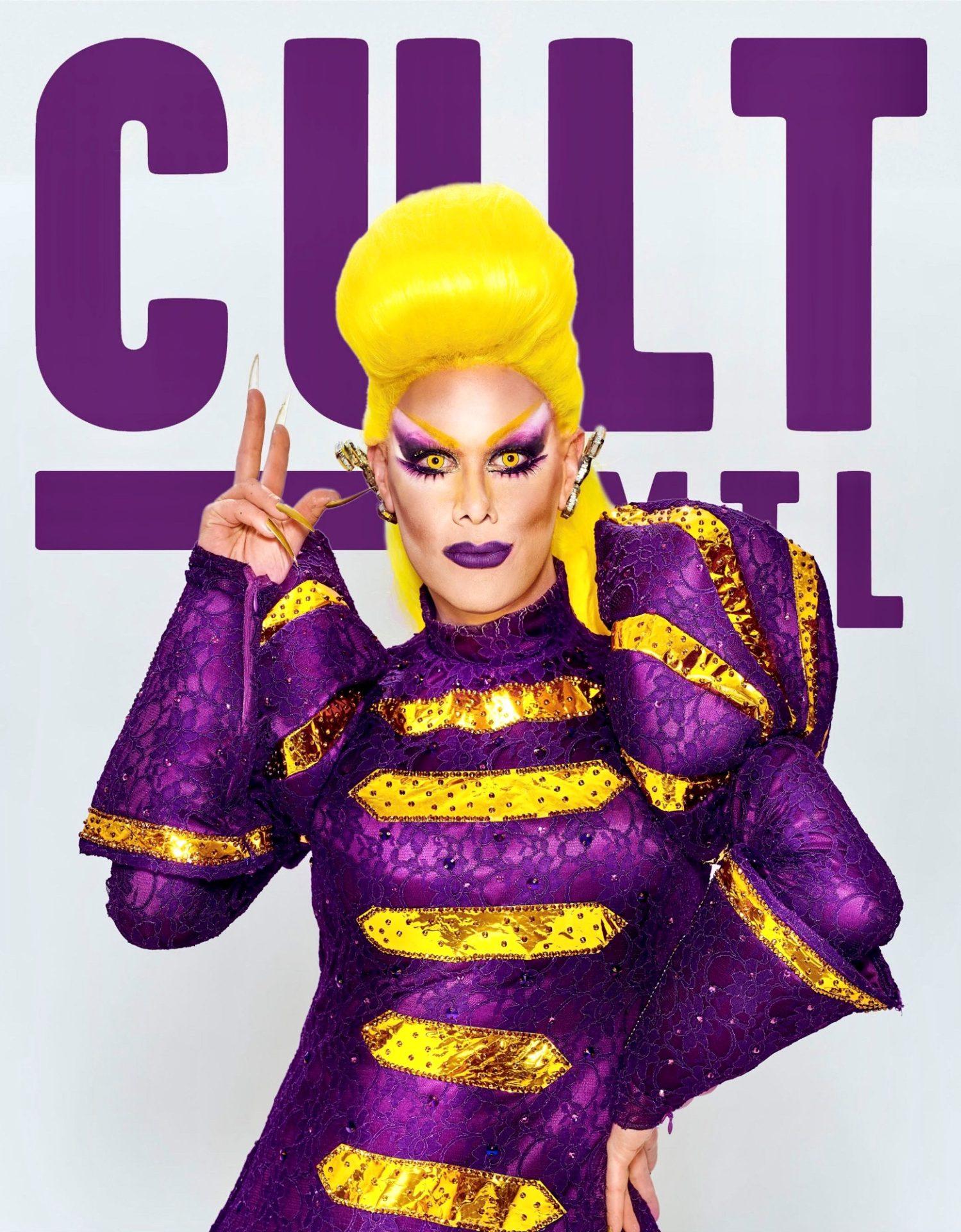 Cult MTL October 2020 issue magazine cover rita baga