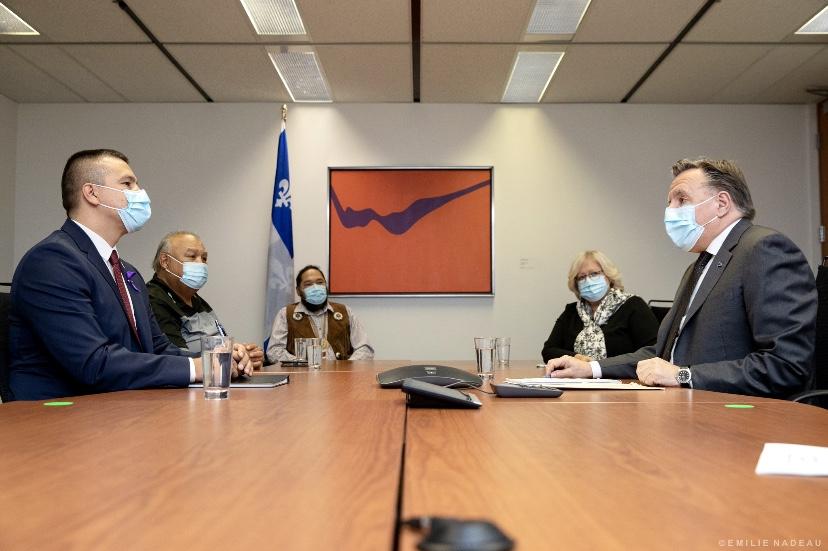 Quebec Premier François Legault Atikamekw chiefs Joyce Echaquan Quebecers help fight racism