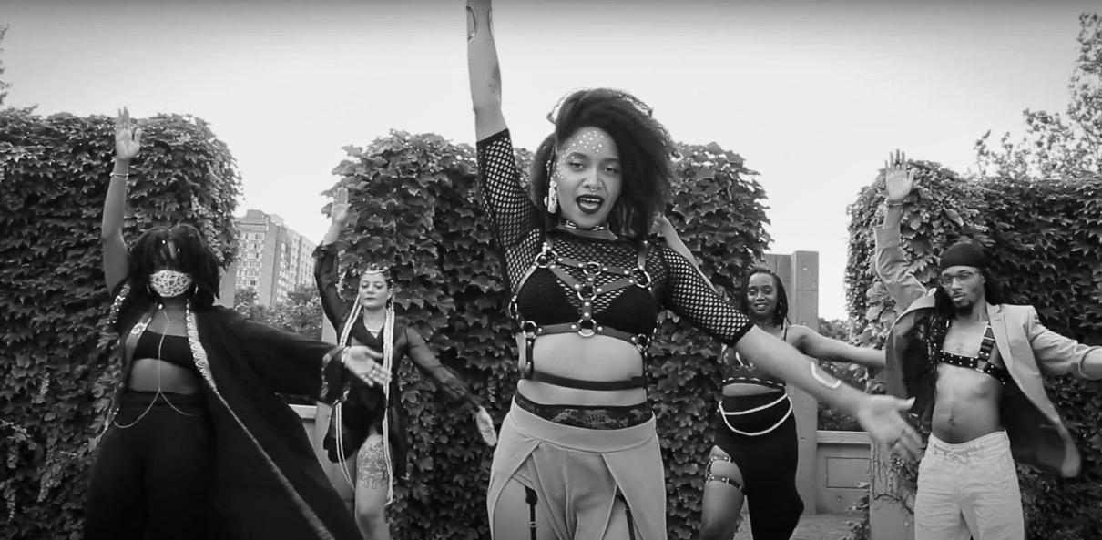 Janette King jot tramp montreal mars music video