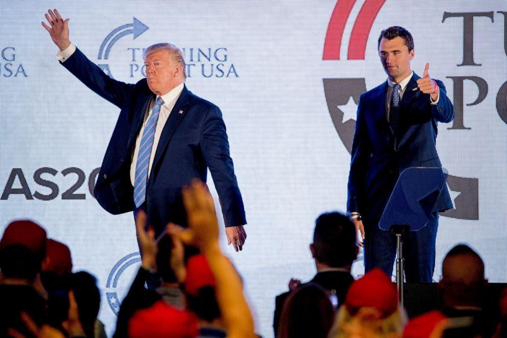 Turning Point USA Charlie Kirk Donald Trump