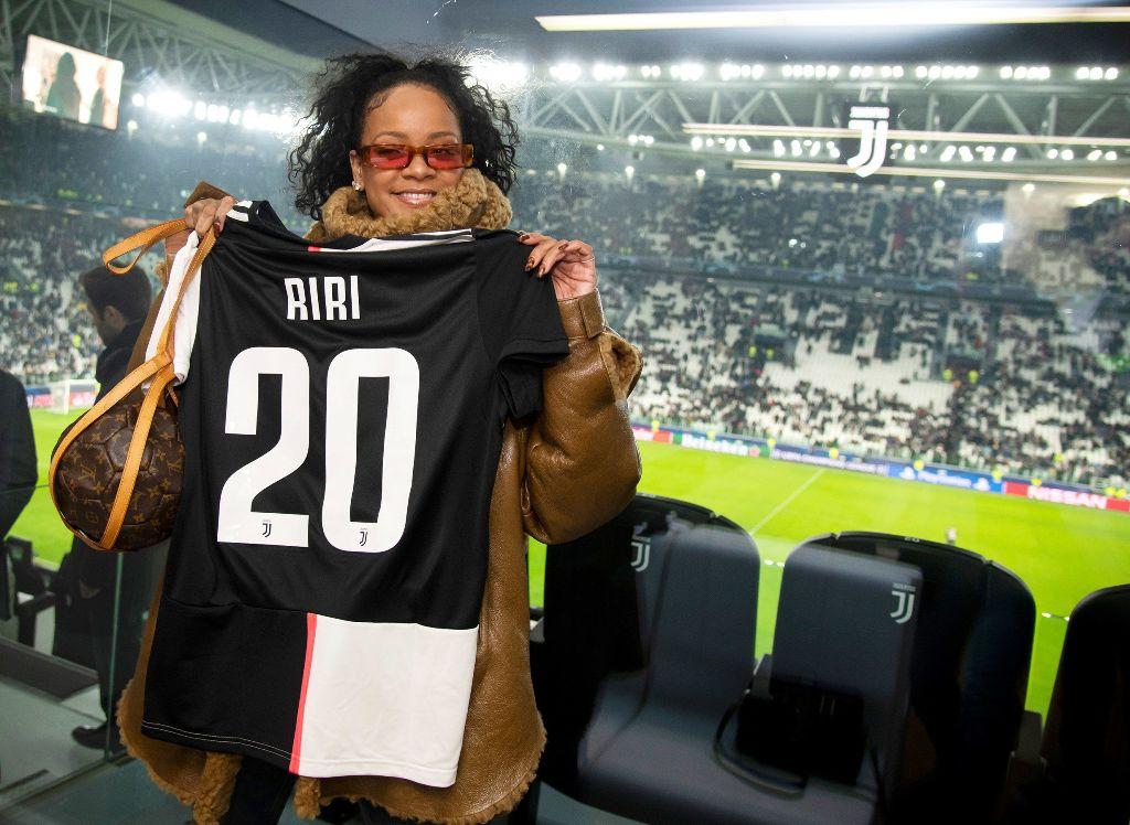 Rihanna soccer football
