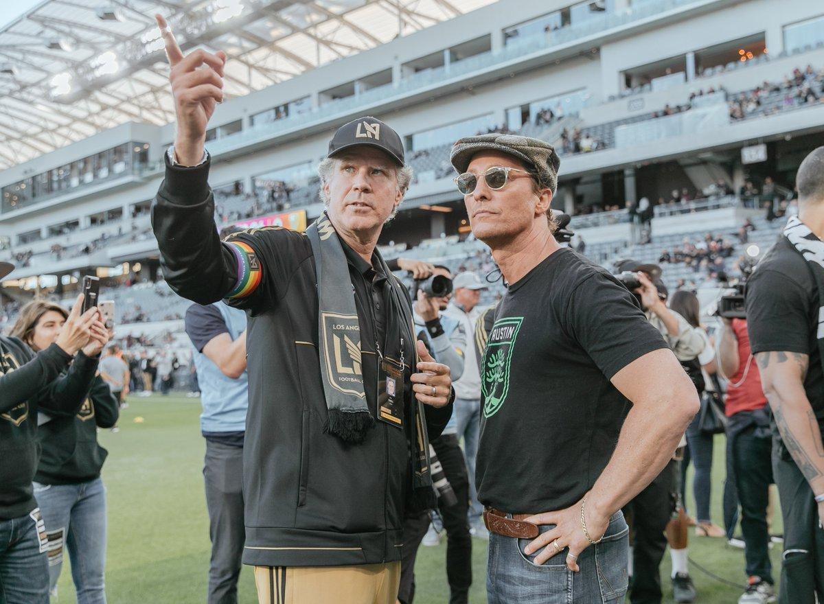 Will Ferrell and Matthew McConaughey