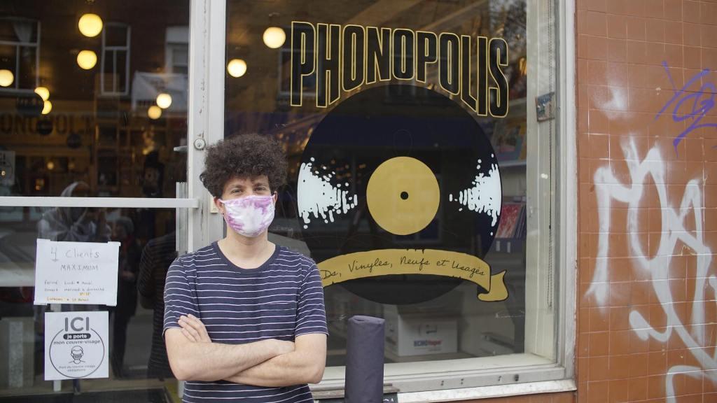 Phonopolis Montreal record store fine
