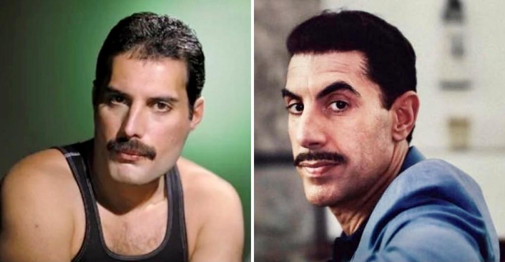 Freddie Mercury Sacha Baron Cohen