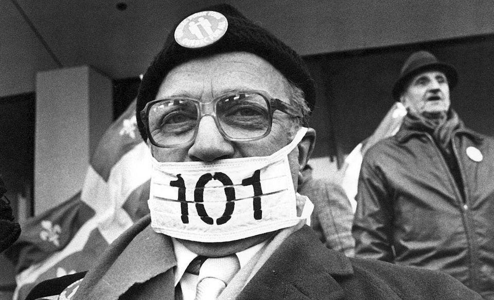 Bill 101 Protest Bill 96 Quebec