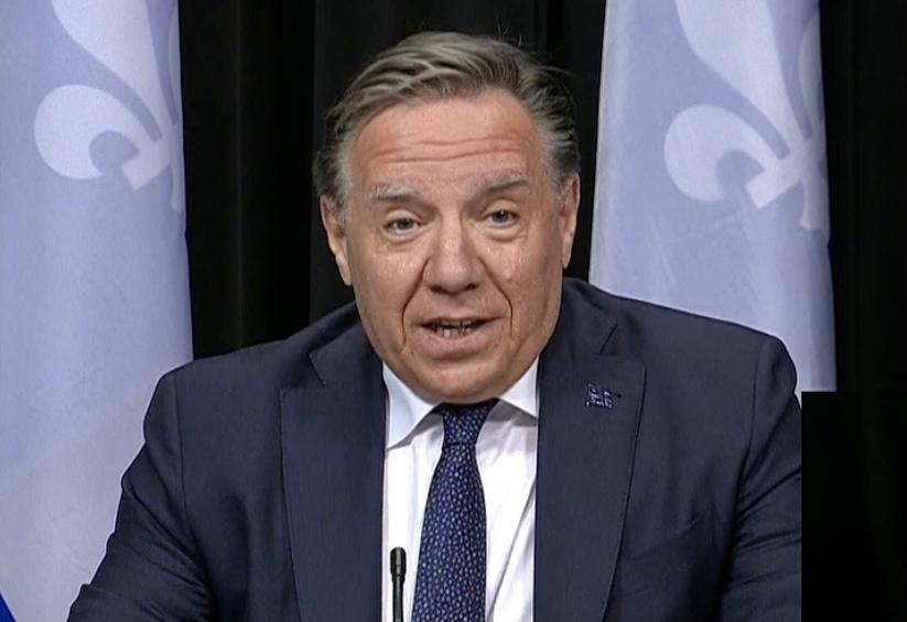 François Legault montreal laval red zones