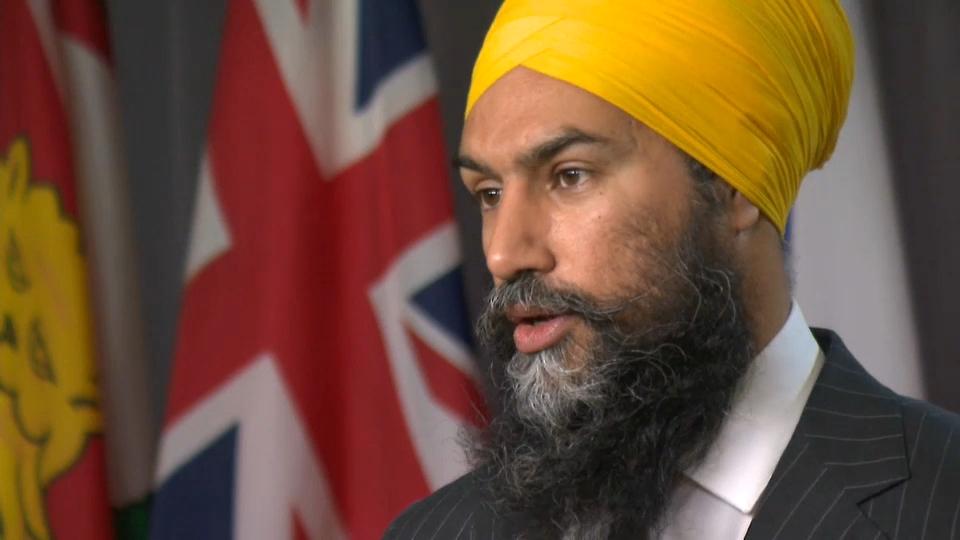 Jagmeet Singh May 31 Indigenous genocide Canada