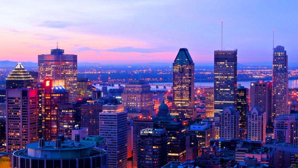 Montreal sunset curfew