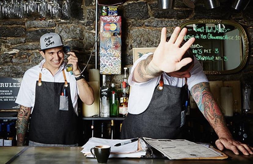 Le Bremner montreal closing chuck hughes Danny smiles