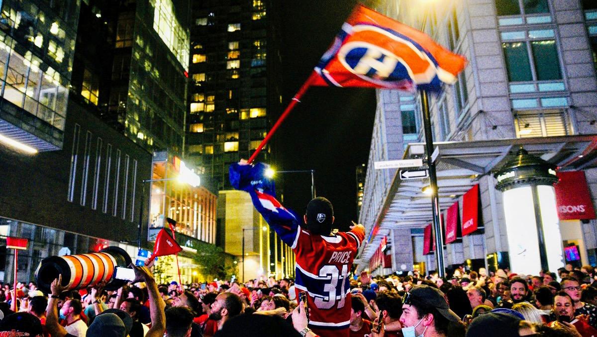 Habs celebration Montreal Canadiens June 7