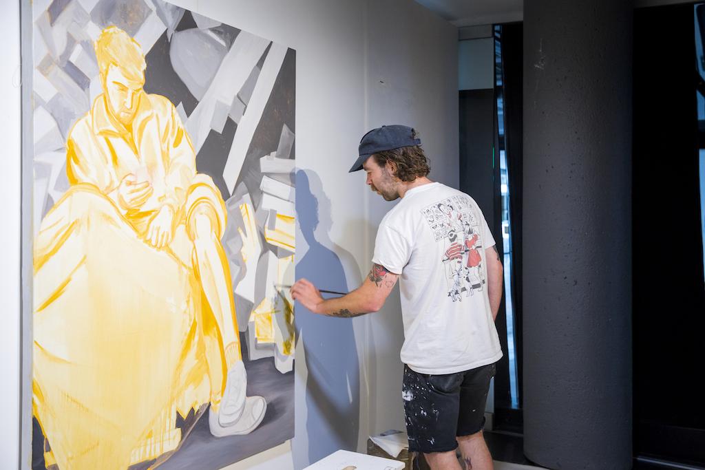 Créer des Ponts emerging Montreal artists downtown