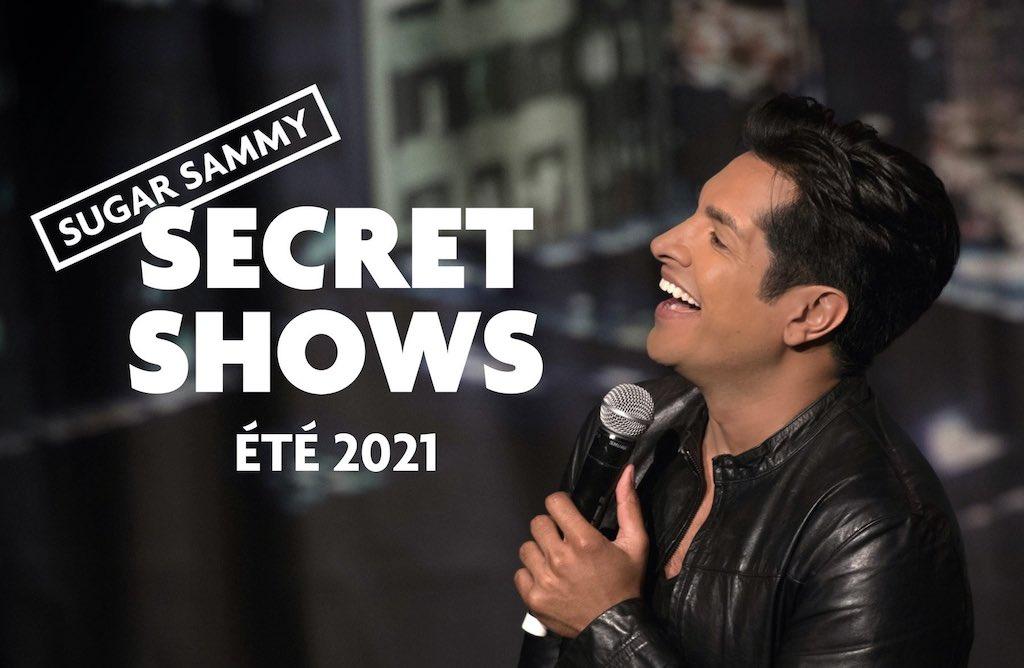 Sugar Sammy announces 10 bilingual secret shows in Montreal starting July 30