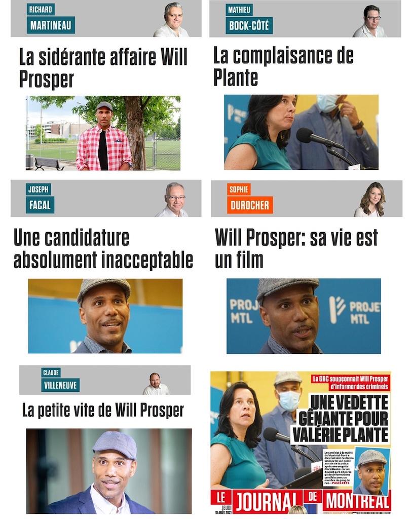 Journal de Montréal smear campaign