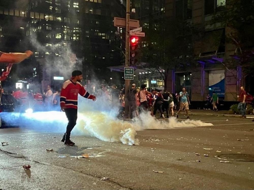 spvm chemical irritants montreal police