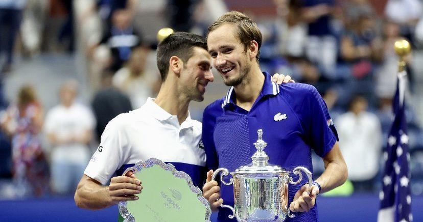 greatest tennis player in history Daniil Medvedev Novak Djokovic