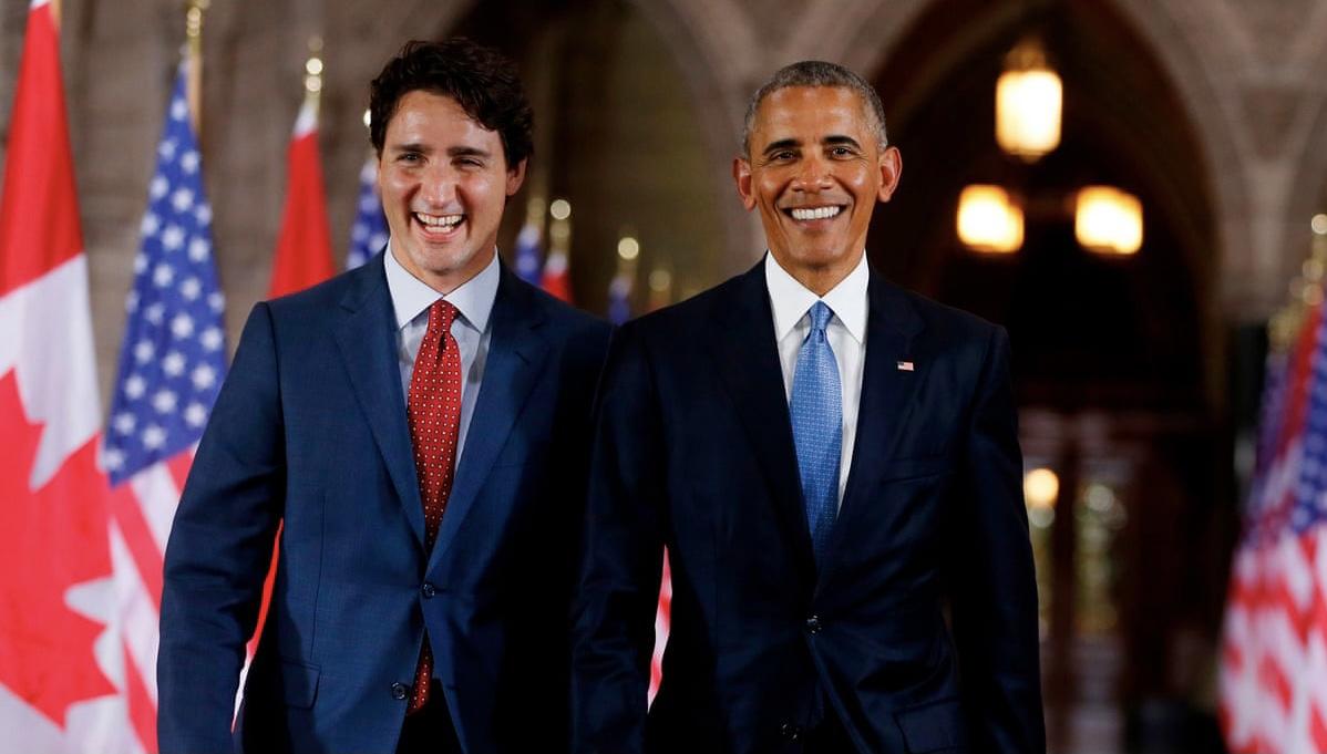 Barack Obama endorses Justin Trudeau ahead of federal election