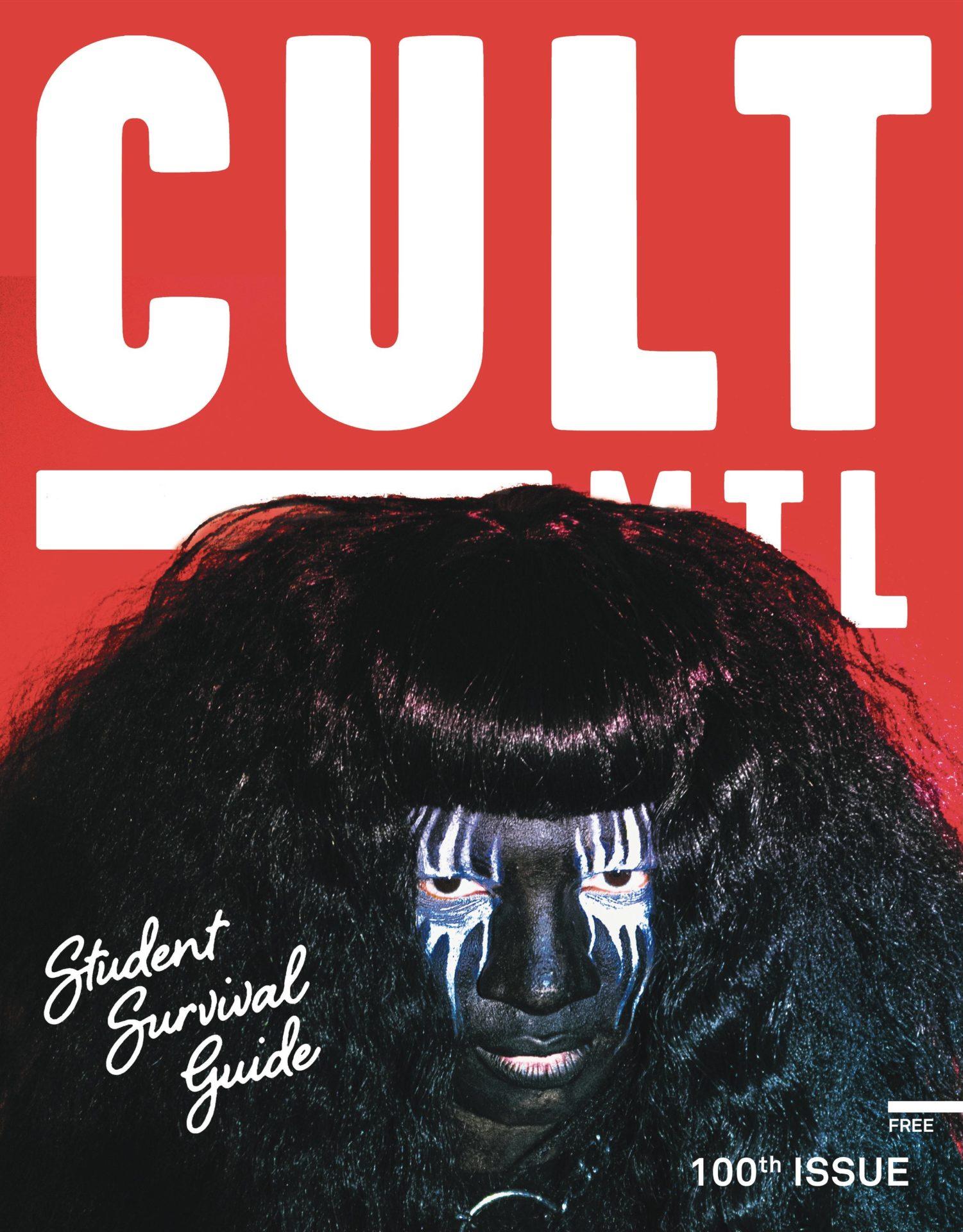 cult mtl magazine september 2021 cover backxwash student survival guide
