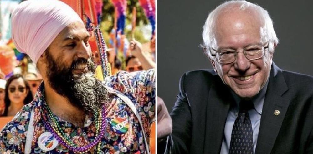 Jagmeet Singh & the NDP get an endorsement from Bernie Sanders