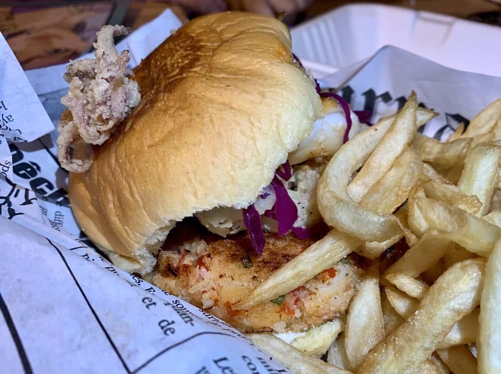 Seasalt Sea Burger Week Montreal