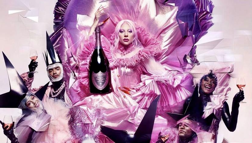 A Dom Pérignon x Lady Gaga collaboration arrives Oct. 1