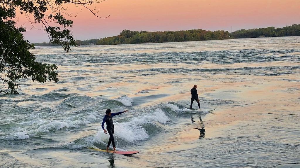 LaSalle surfing Montreal