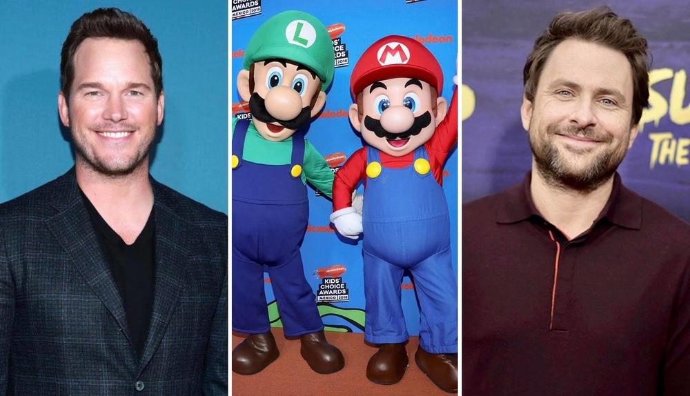 Chris Pratt, Charlie Day to voice Mario and Luigi in Super Mario Bros. film