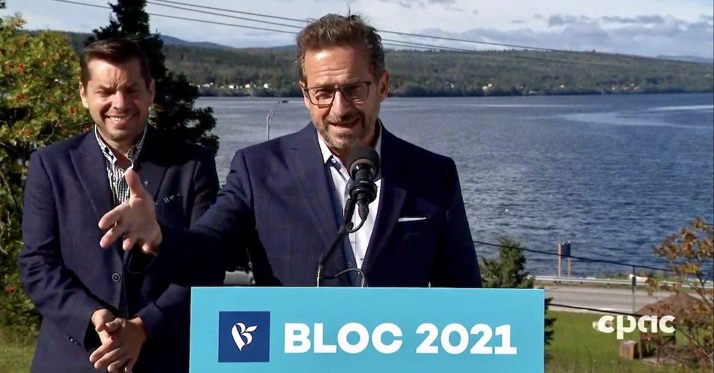 Yves-François Blanchet debate Bill 21 Bill 96 Bloc Québécois