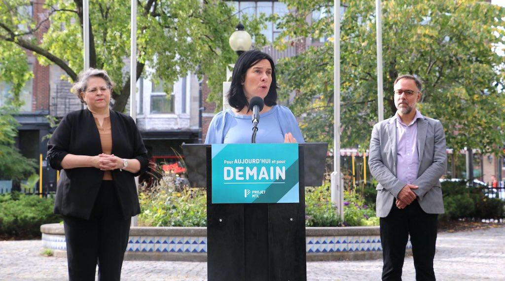 Montreal Mayor Valérie Plante homelessness