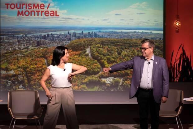 Valerie Plante Denis Coderre Montreal election
