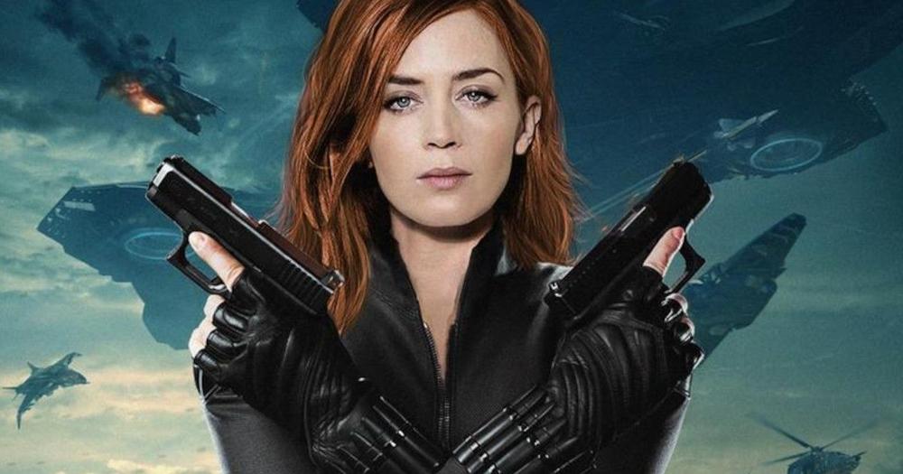 Emily Blunt was originally cast as Black Widow